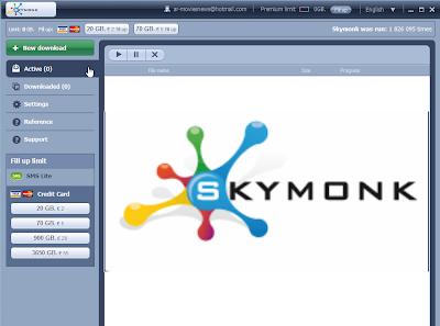 برنامج Skymonk Client 2 Beta 1 عملاق تسريع التحميل + شرح كود التنشيط والتنصيب على Windows 8