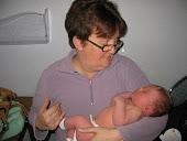 Gramma holding Baby Benton
