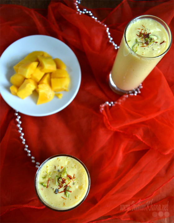 Mango Lassi Summer Drinks Recipe