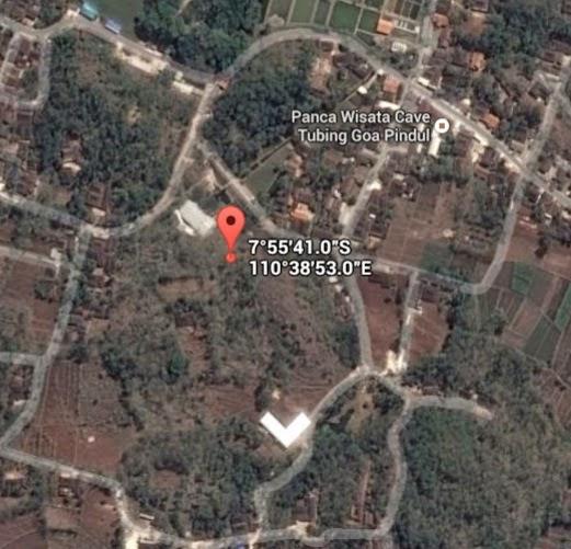 Koordinat Lokasi Goa Pindul_siparjo.com