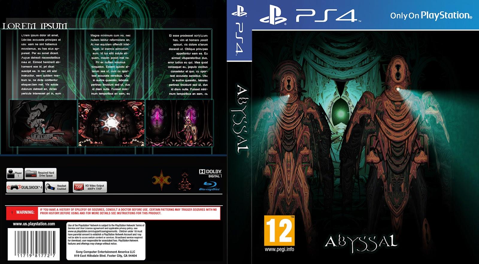 kaispace game idea ps4 cover