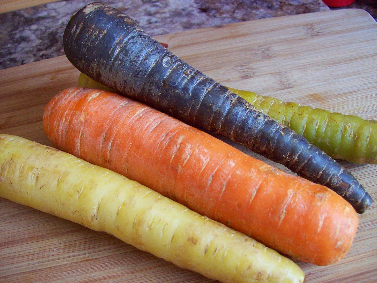how to cook purple chantenay carrots