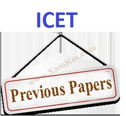 icet, icet previous question papers, icet papers, icet question papers