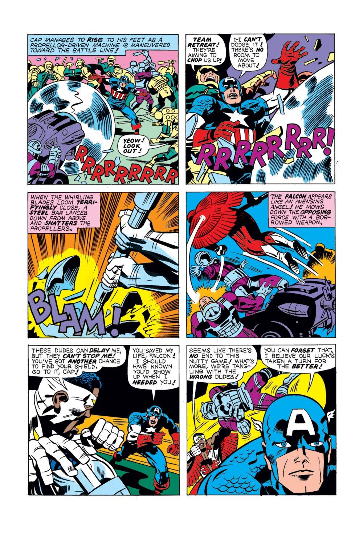 Captain America (1968) Issue #196 #110 - English 16