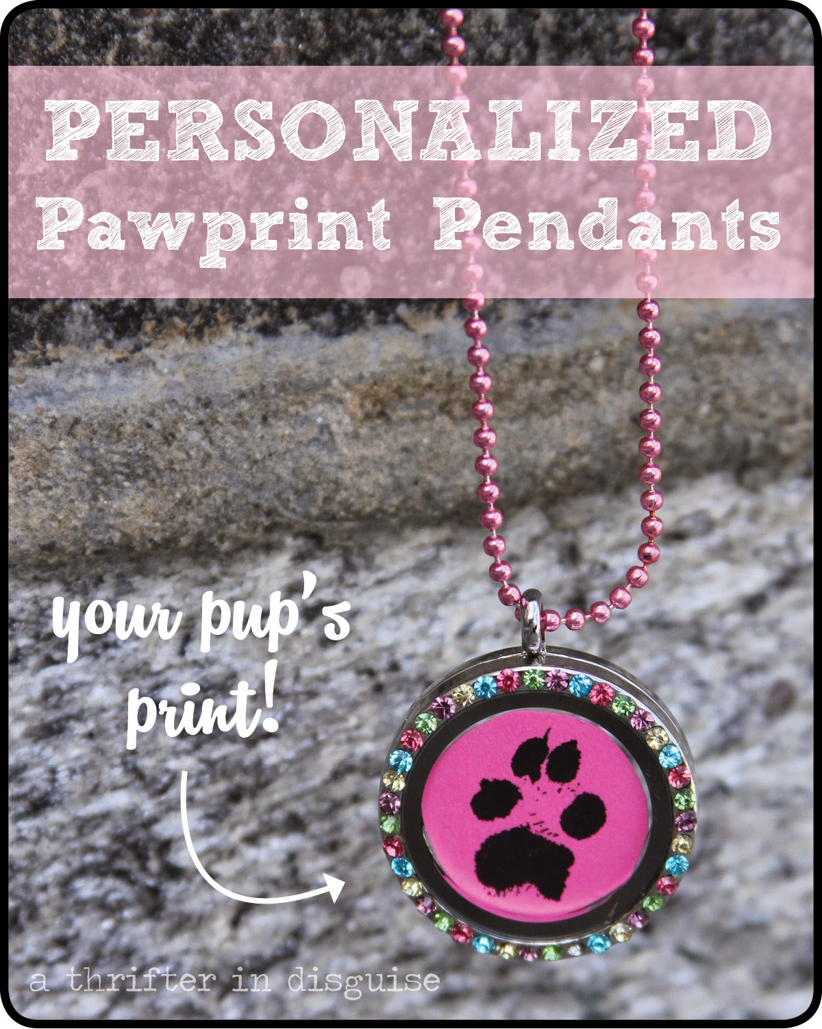 heart print forever in rescue animal necklace image my the paw of images lockets prints site group