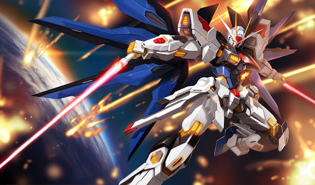 Wallpaper Strike Freedom Gundam (Mobile Suit Gundam SEED Destiny)