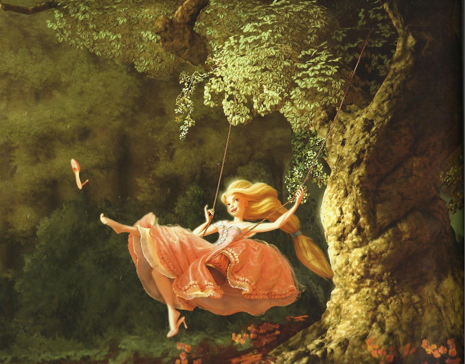 L'incroyable succès de La Reine des Neiges - Page 15 Rapunzel+on+swing
