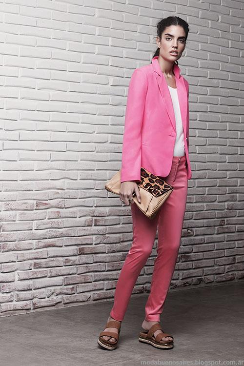 Moda primavera verano 2015 trajes de mujer Ayres.