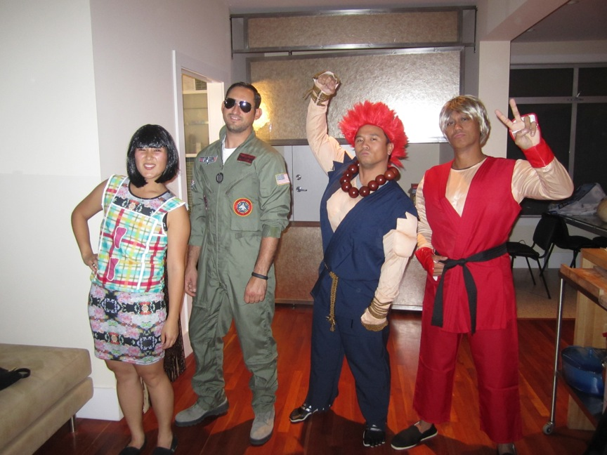 halloween costume ms swan maverick akuma and ken