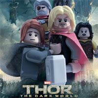 Thor: El Mundo oscuro y otros 10 posters de películas comiqueras en versión Lego
