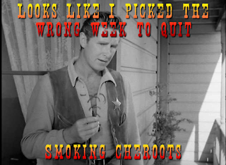 Looks like I picked the wrong week to quit smoking
