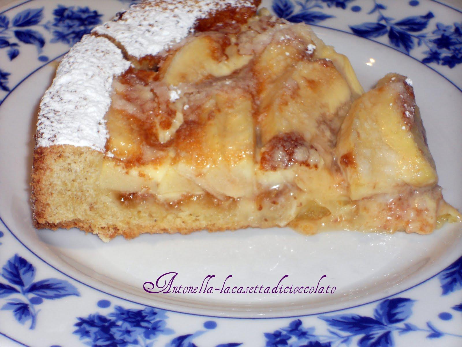 La casetta di cioccolato crostata di mele all 39 alsaziana for Crostata di mele