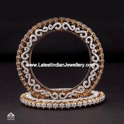Diamond Pacheli Bangles