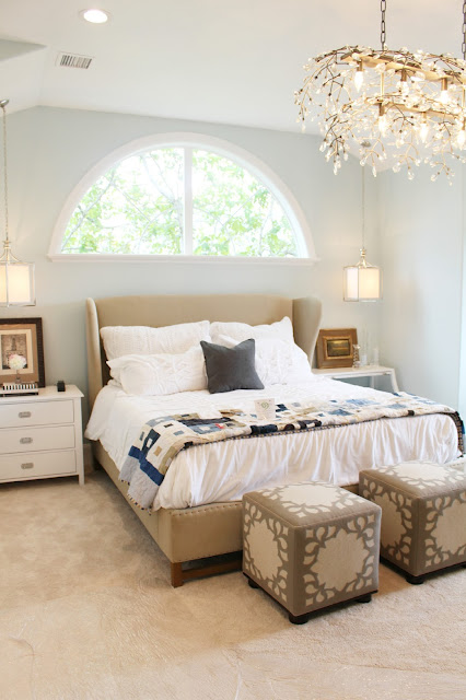 Home tour: Master bedroom paint color
