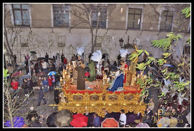Misterio de la Sentencia llegando a La Anunciación Madrugá 2013