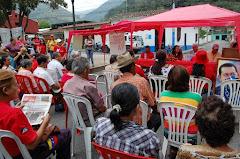 Gobierno de Alexis Ramírez entregó materiales para la rehabilitación de viviendas en Zea