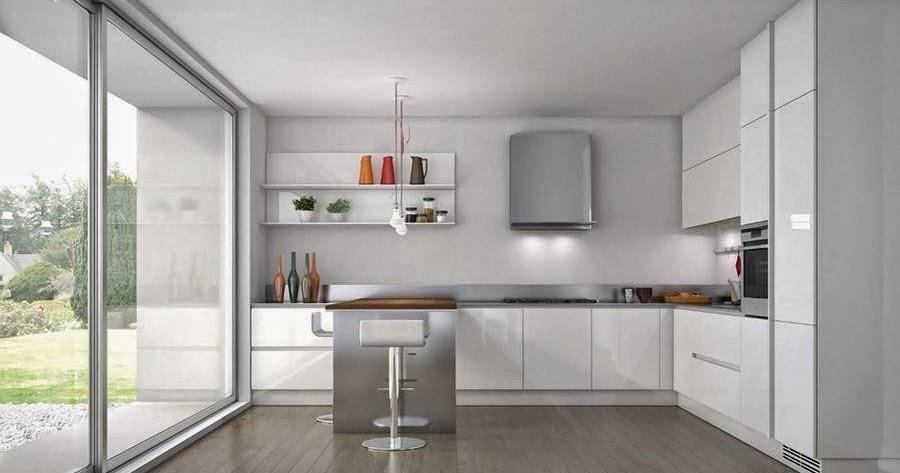 Arquitectura de Casas: Diseños modernos de cocinas.