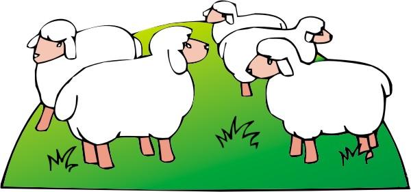 Sheep house clipart - photo#16