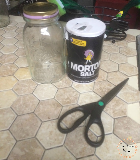 DIY Mason Jar Sugar Container~ The Dreams Weaver