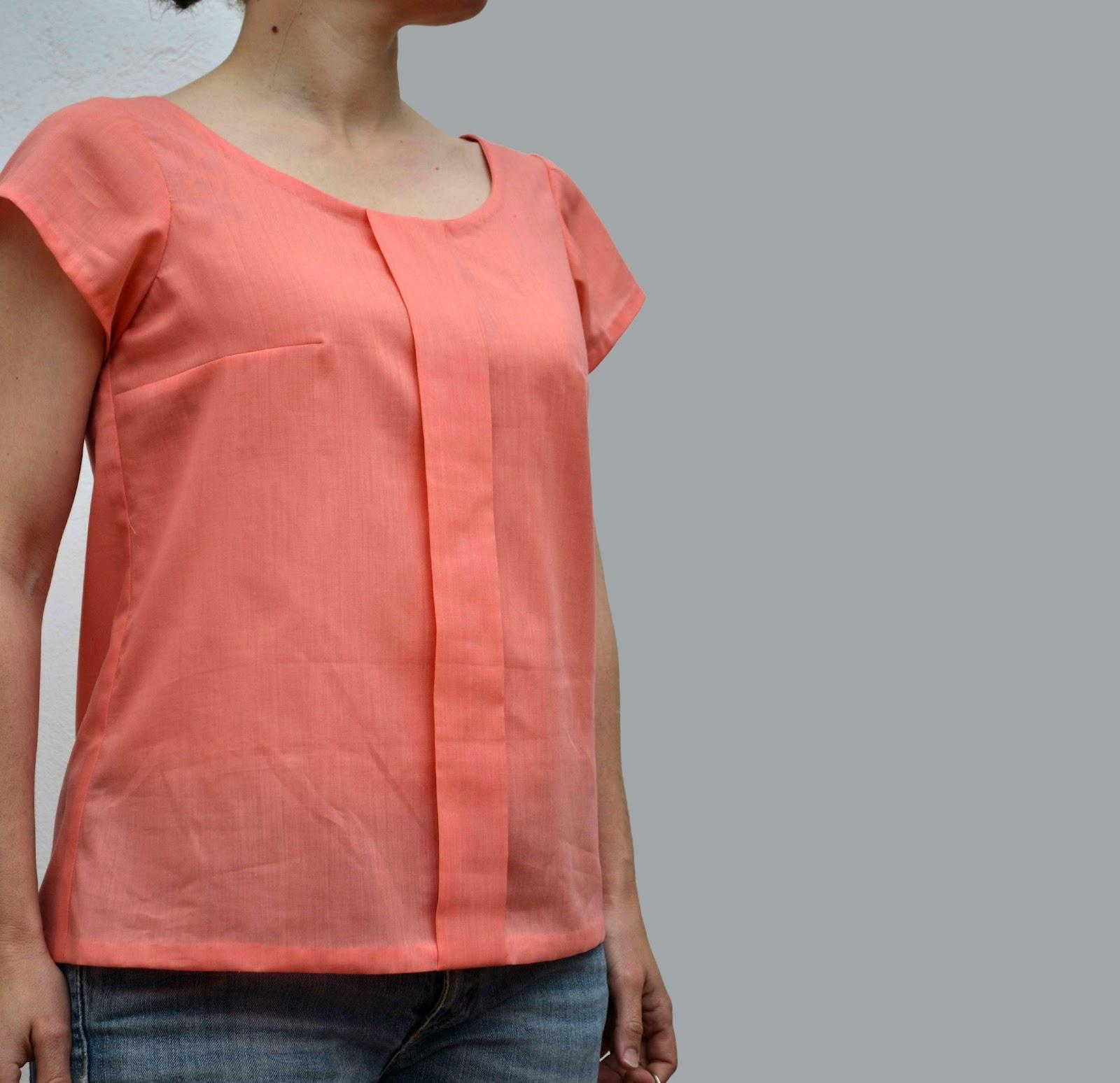 patrones para blusas de chifon   imagui