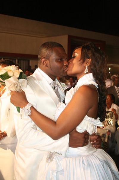 Casamento da Lizha James o Beijo