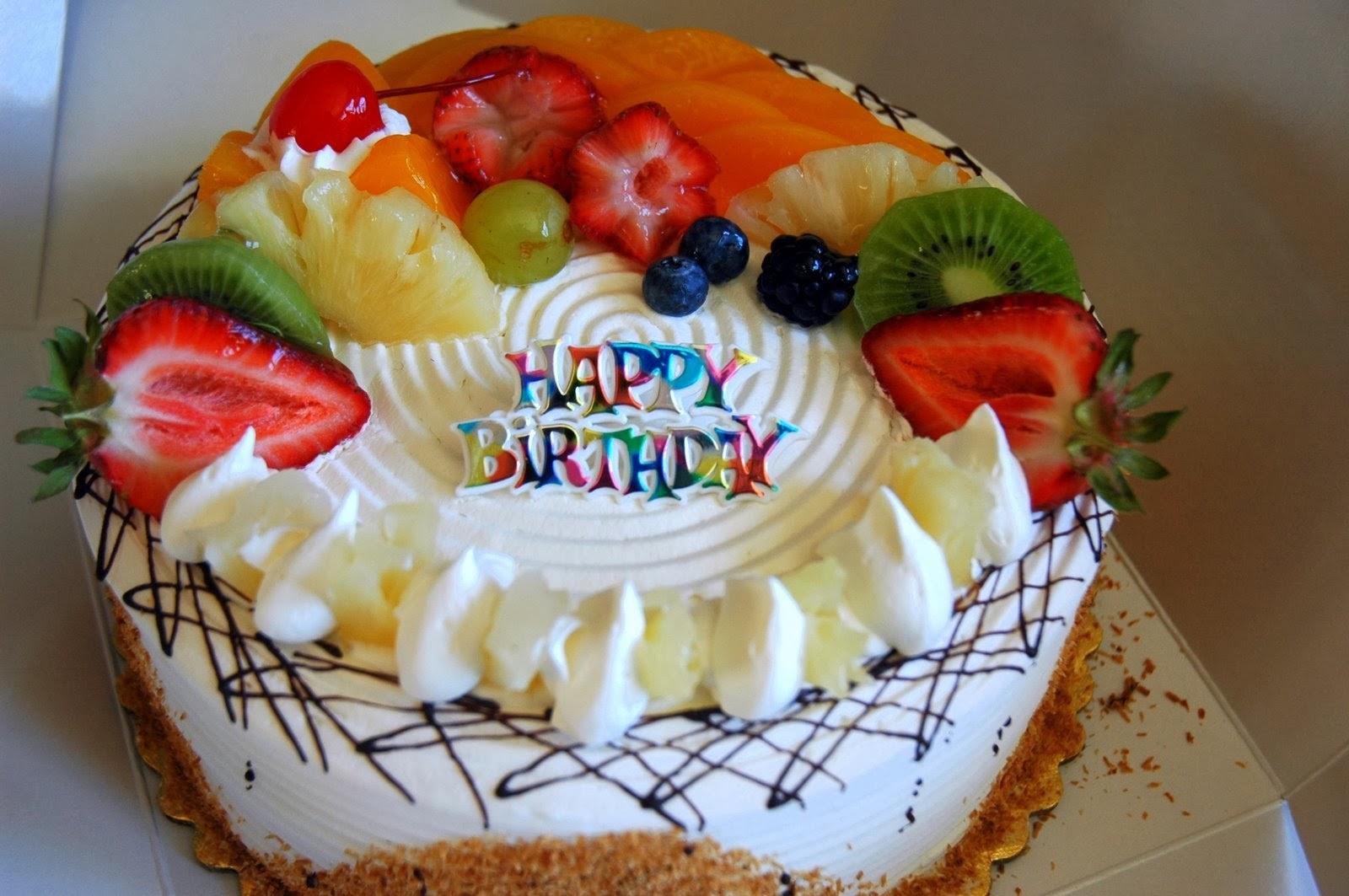 Birthday Cake Images Gallery : All new wallpaper : Happy birthday cake wallpaper