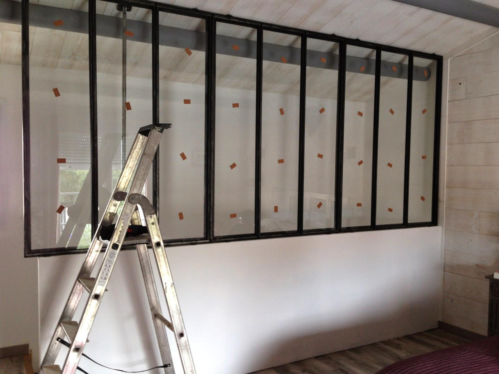 tite FABRIC d\'O: Grande cloison vitrée, type atelier d\'artiste