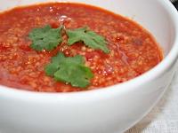 Sopa de Tomate e Couscous Marroquino (vegana)
