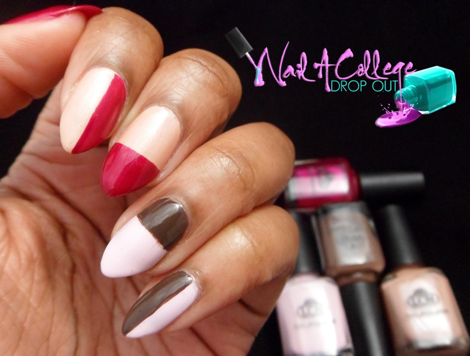 Nail A College Drop Out: LCN Sweet Serenity Nail Art
