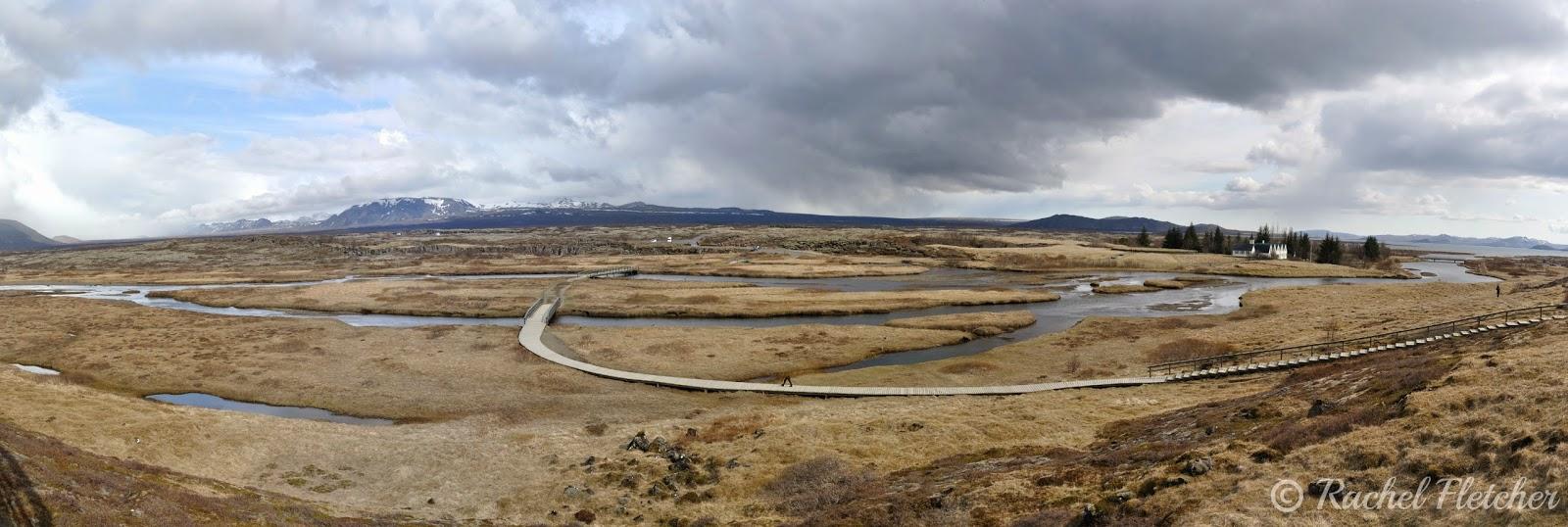 Þingvellir panorama