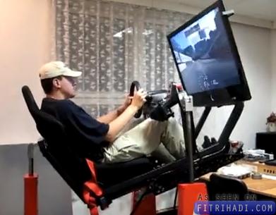 video setup gaming terbaik untuk racing game