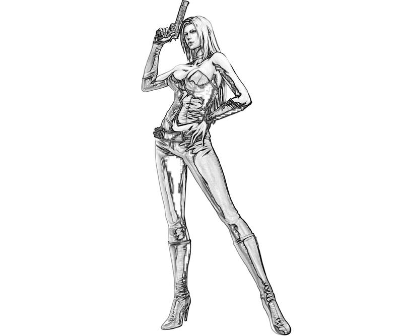 marvel-vs-capcom-trish-armored-coloring-pages