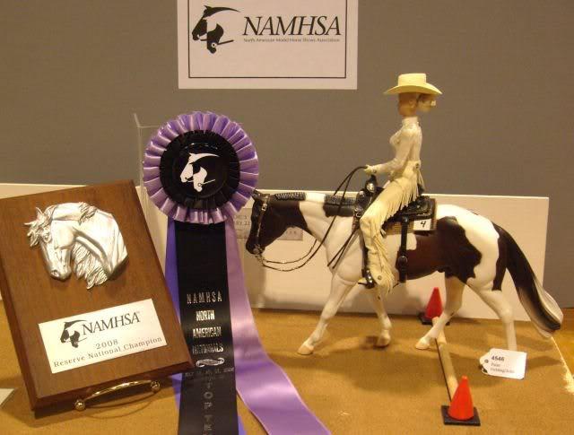 2008 NAN Reserve Champion owned by Sharron Layman
