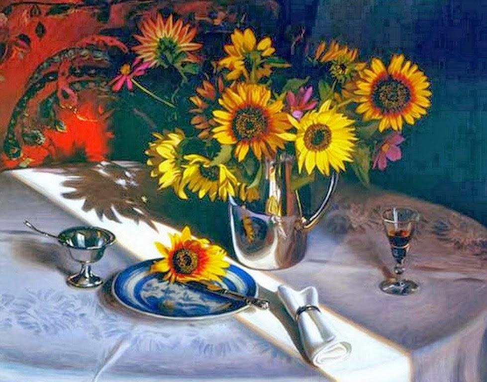 imagenes-de-floreros-pintados
