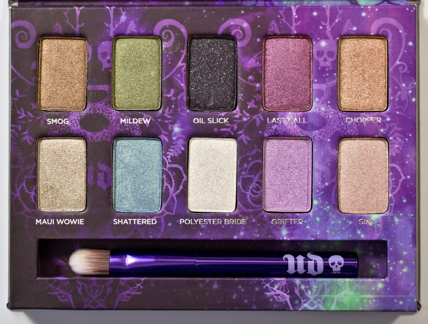 warpaint and unicorns urban decay ammo palette eyeshadow