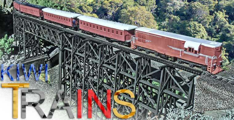 New Zealand Railway Models (Kiwi Trains)