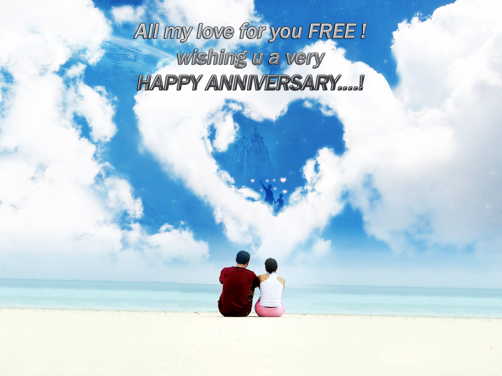 Khushi For Life Best Anniversary Greetings Blessed With Love Joy