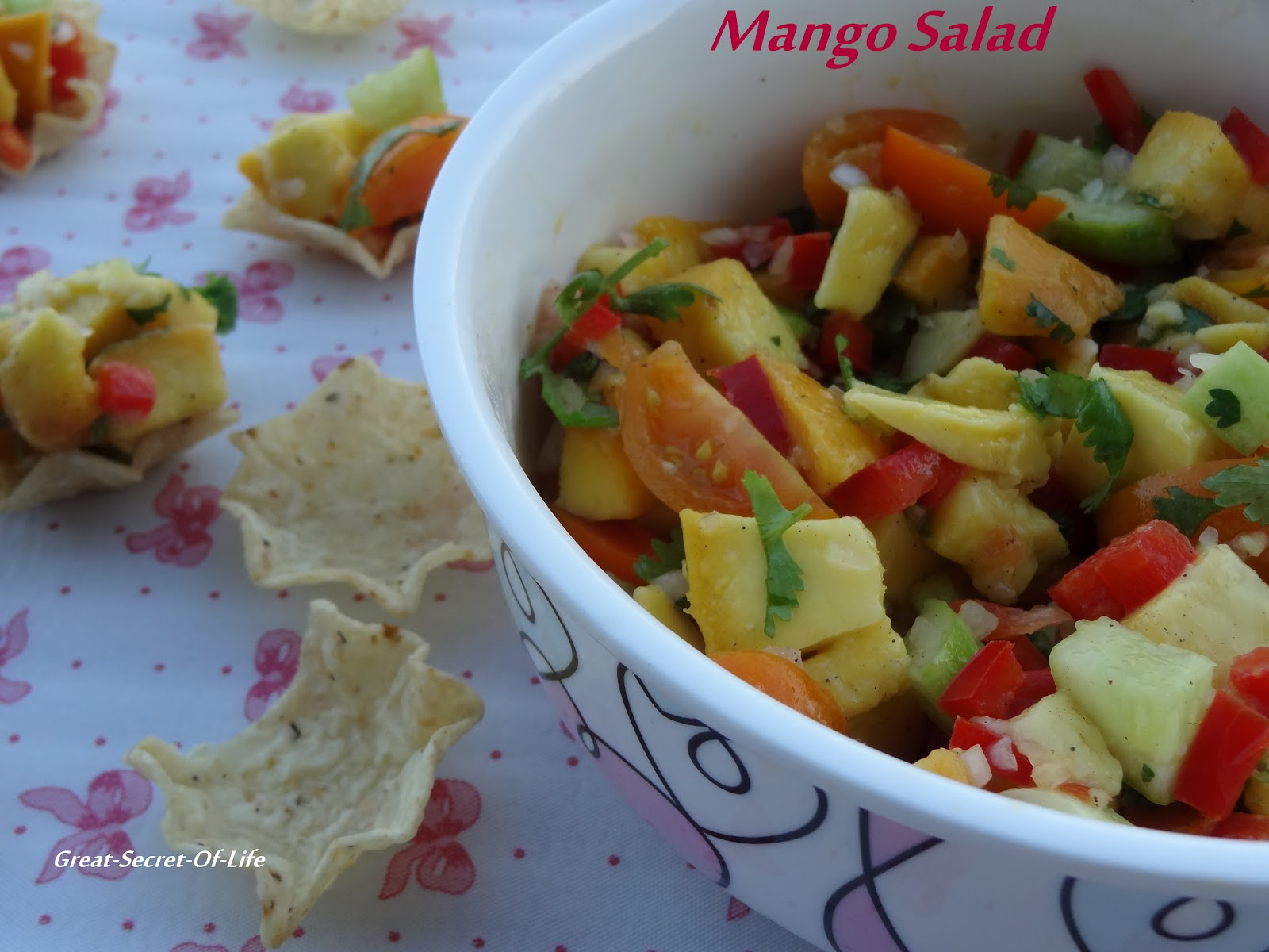 Mango Salad| Great-secret-of-life