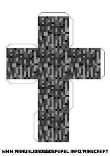Crear bloque minecraft de roca