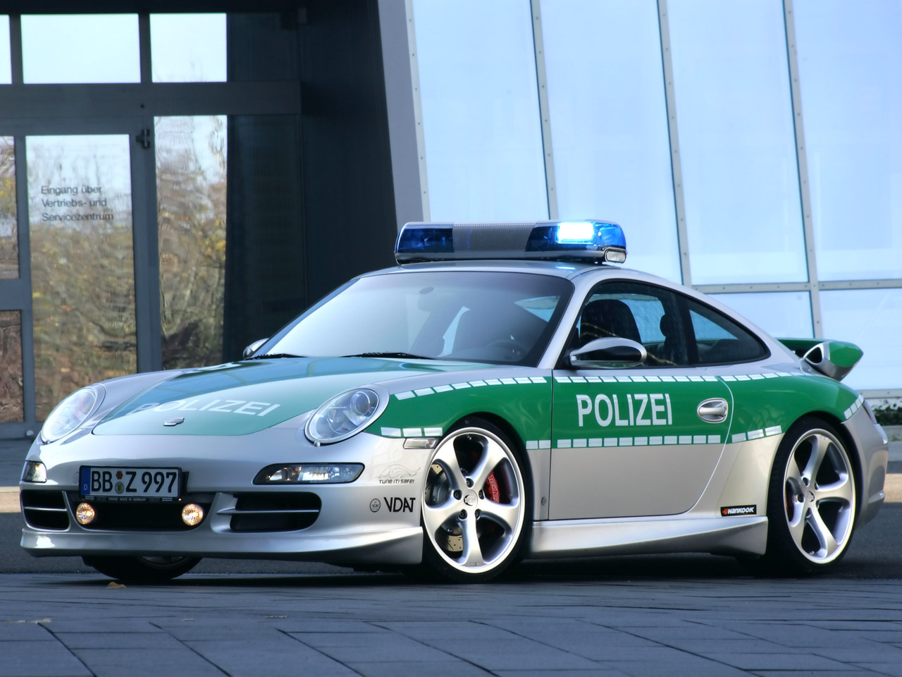 Police Car Tuned