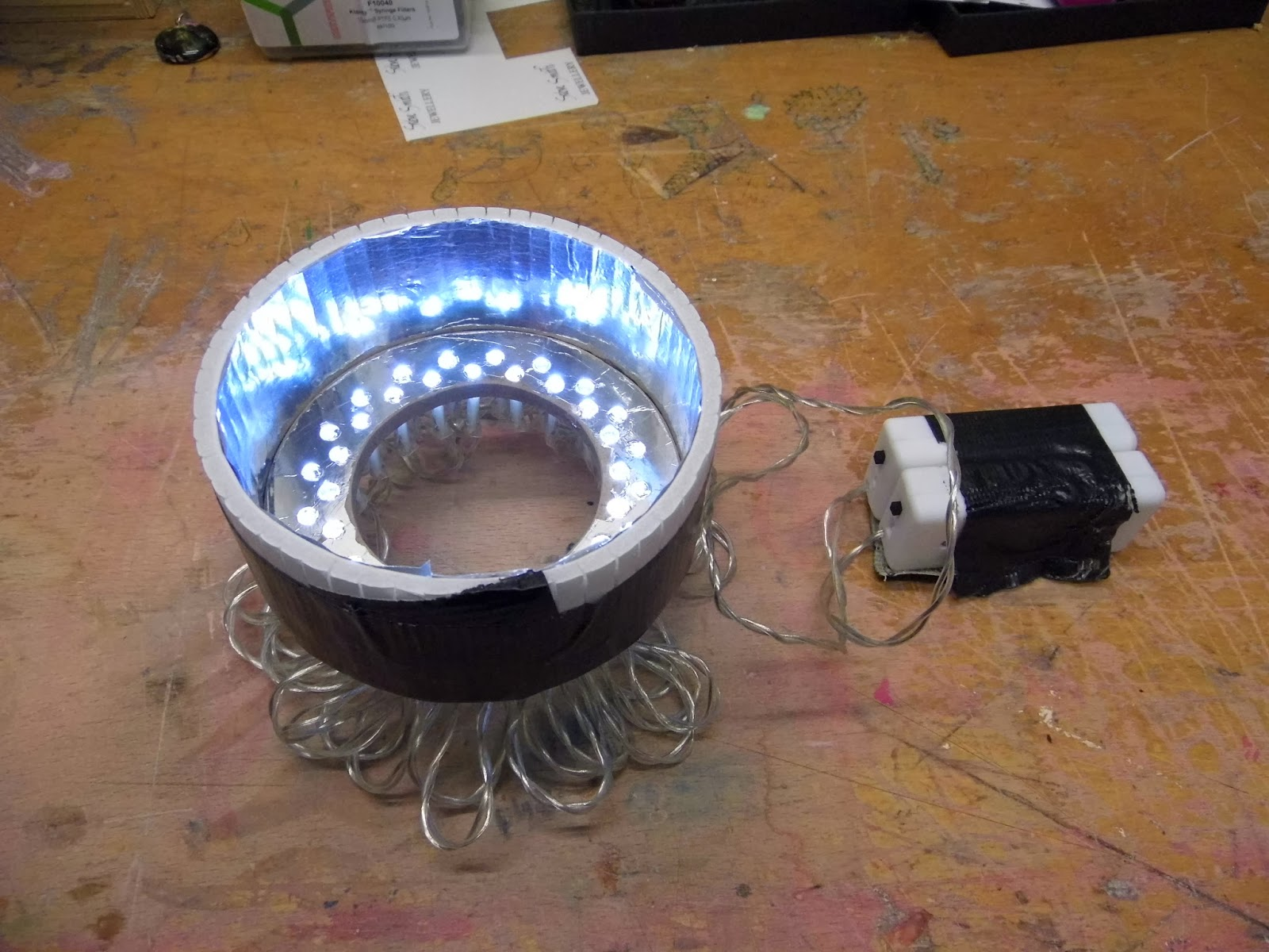 LED jewellery light