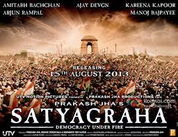 Satyagraha – Democracy Under Fire movie poster