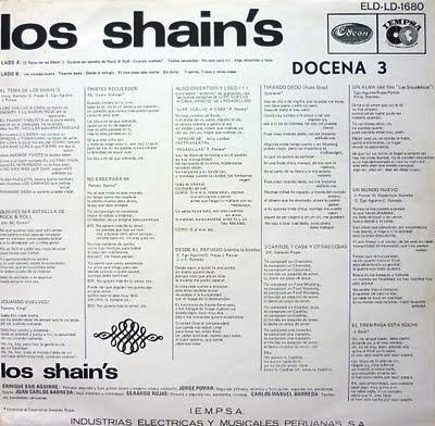 Los Shain's - No Eres Para Mi - El Tren Pasa Esta Noche