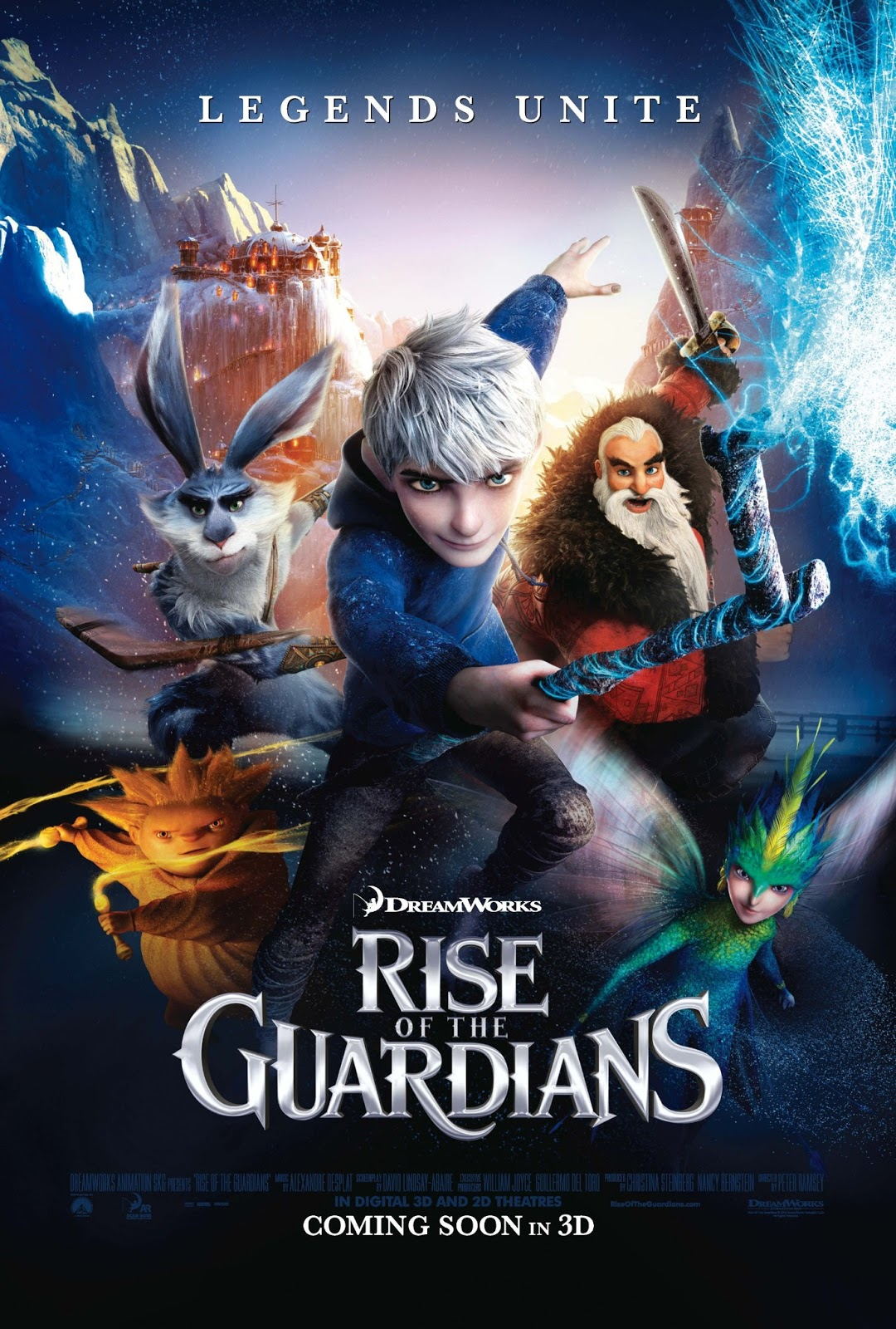 The RetroCritic: RISE OF THE GUARDIANS - REVIEW