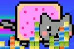 Nyan Cat Block Escape free online game