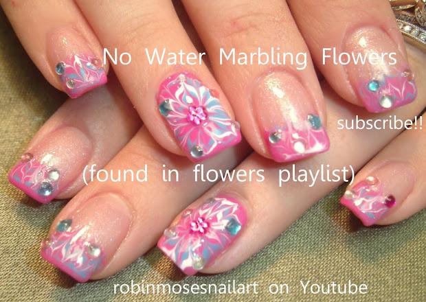 robin moses nail art water