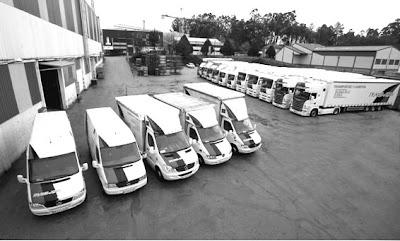 gestion de la flota de vehículos, camiones, trasnporte terrestre
