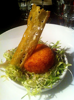 Stitch and Bear - La Brasserie - Salt cod Scotch egg