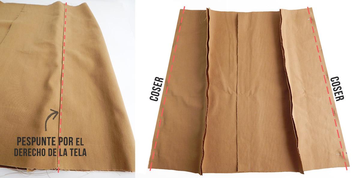 falda paso