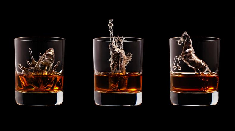 Esculturas de cubos de hielo realizadas con impresora 3D son extremadamente detalladas